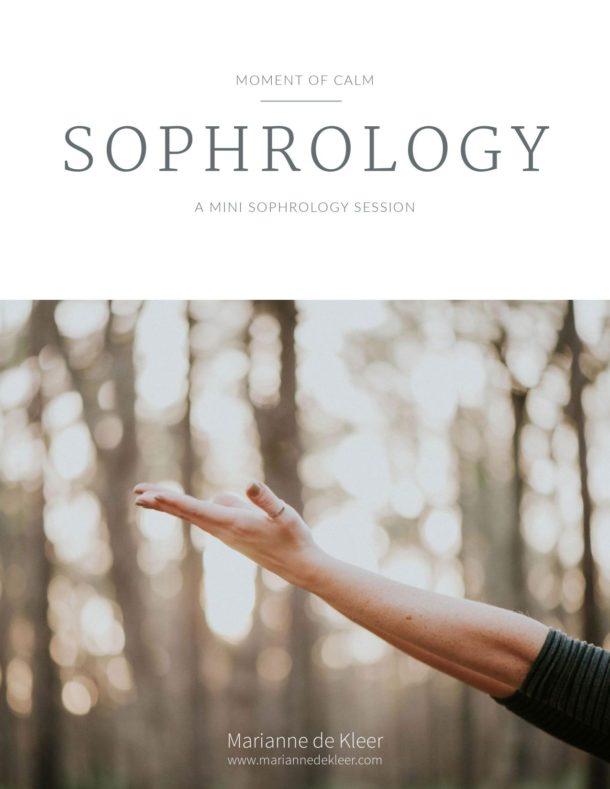 mini sophrology session workbook